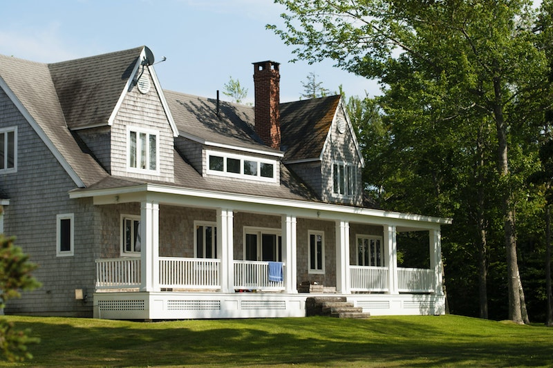 suburban home updated windows and doors